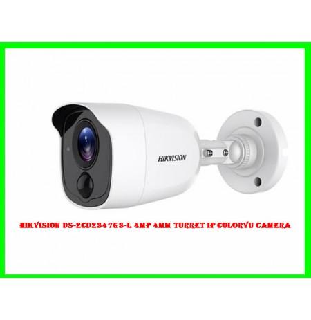 Hikvision DS-2CD2347G3-L 4MP 4MM Turret IP ColorVu Camera