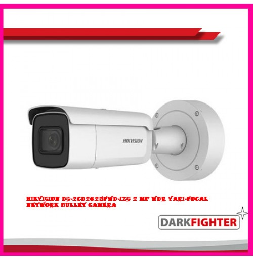 Hikvision DS-2CD2625FWD-IZS 2 MP WDR Vari-focal Network Bullet Camera