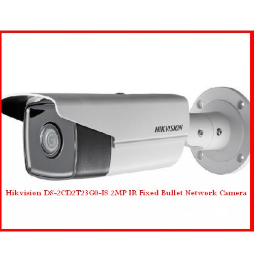 Hikvision DS-2CD2T23G0-I8 2MP IR Fixed Bullet Network Camera