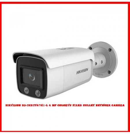Hikvision DS-2CD2T47G1-L 4MP ColorVu Fixed Bullet Network Camera