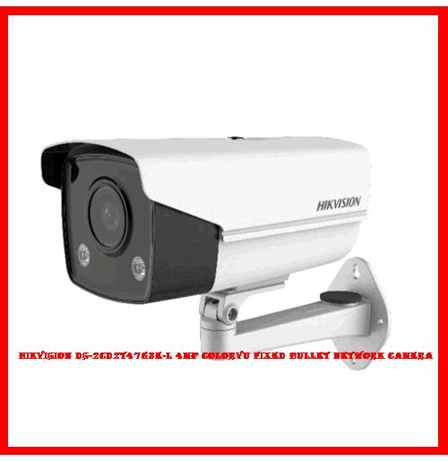 Hikvision DS-2CD2T47G3E-L 4MP ColorVu Fixed Bullet Network Camera