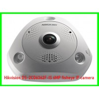 Hikvision DS-2CD6362F-IS 6MP fisheye IP camera