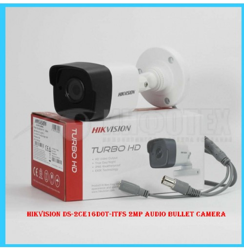 Hikvision DS-2CE16D0T-ITFS 2MP Audio Bullet camera