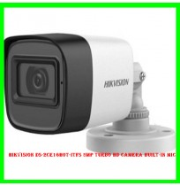 Hikvision DS-2CE16H0T-ITFS 5mp Turbo HD Camera Built-in Mic