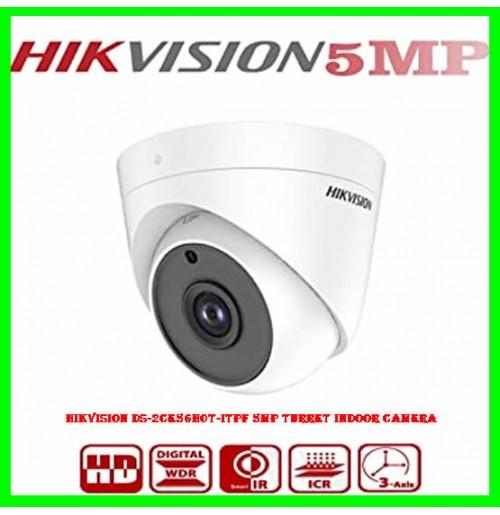 Hikvision DS-2CE56H0T-ITPF 5MP Turret Indoor Camera