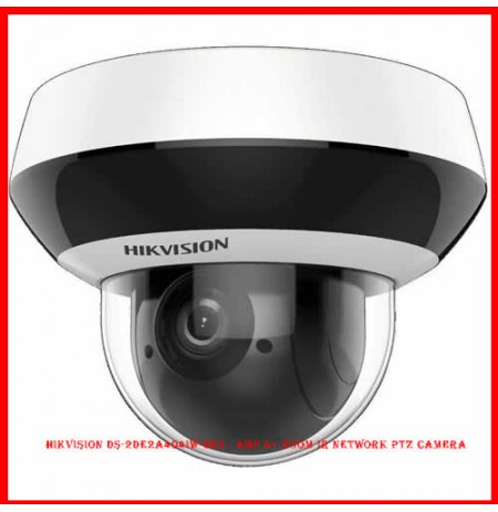 Hikvision DS-2DE2A404IW-DE3 - 4MP 4× Zoom IR Network PTZ Camera