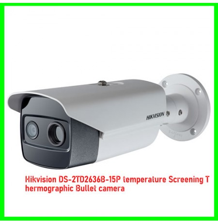 Hikvision DS-2TD2636B-15P temperature Screening Thermographic Bullet camera