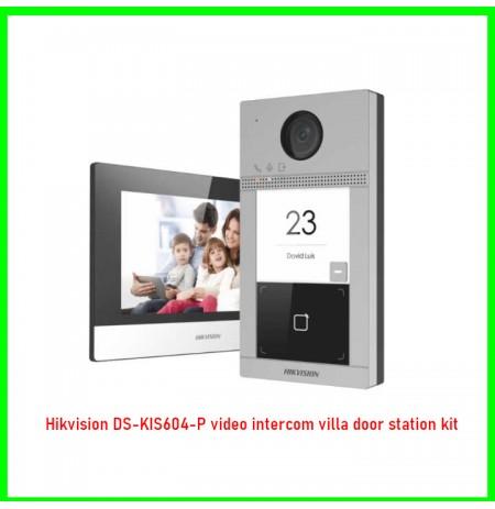 Hikvision DS-KIS604-P video intercom villa door station kit