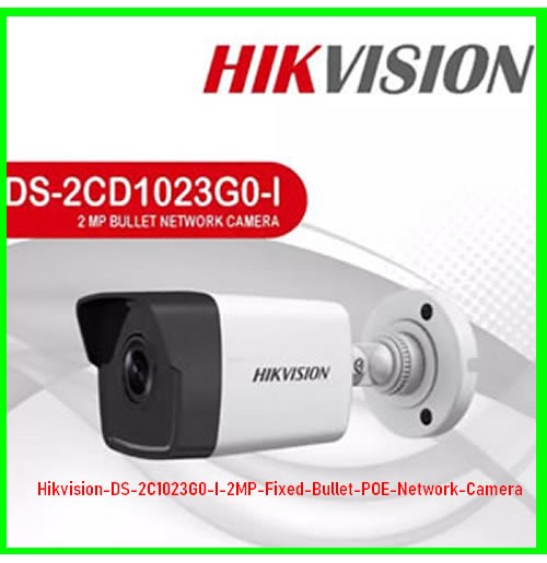 Hikvision DS-2C1023G0-I 2MP Fixed Bullet POE Network Camera