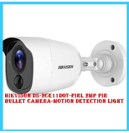 Hikvison DS-2CE11D0T-PIRL 2MP PIR Bullet Camera-Motion detection Light