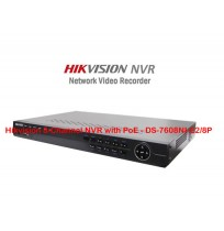 Hikvision 8-Channel NVR with PoE - DS-7608NI-E2/8P