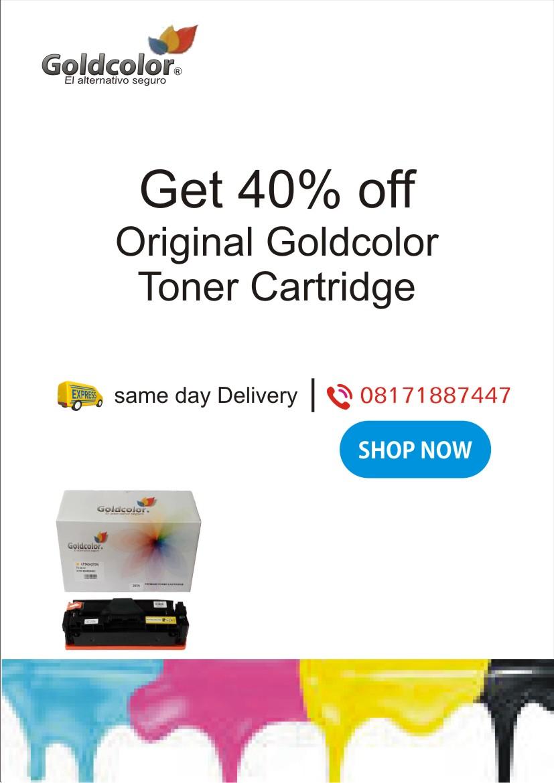 Inkmart_Goldcolor Toner