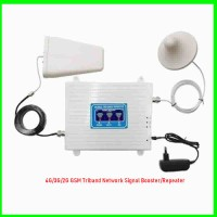 4G/3G/2G GSM Triband Network Signal Booster/Repeater- White-08060498353