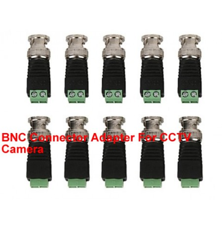 BNC Connector Adapter For CCTV Camera