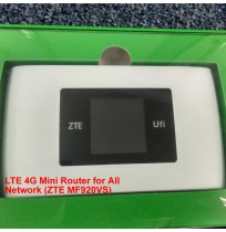 LTE 4G Mini Router for All Network (ZTE MF920VS)