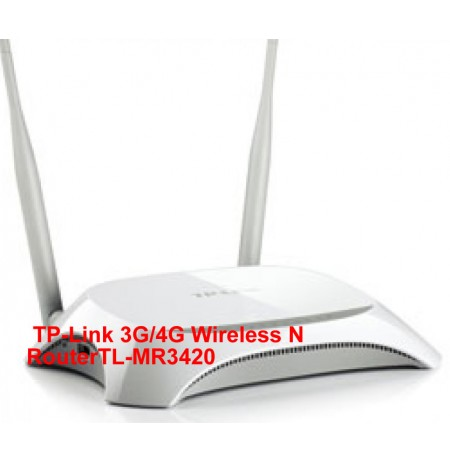 Tp-link 3G/4G Wireless Router - TL-MR3420