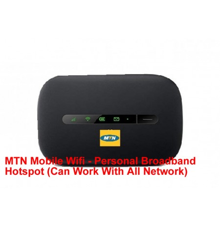 MTN Mobile Wifi - Personal Broadband Hotspot (Can Work With All Network)