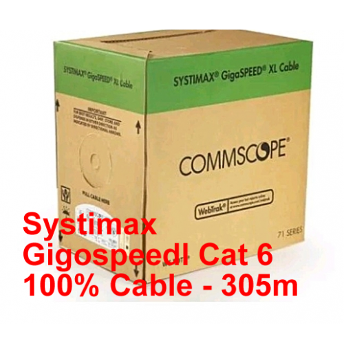Systimax Gigaspeed Cat 6 100% Cable - 305m
