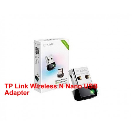 TP Link Wireless N Nano USB Adapter– Tl-wn725n – 150mbps