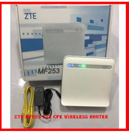 ZTE MF253 LTE CPE Wireless Router