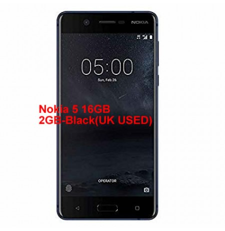 Nokia 5 16GB 2GB-Black(UK USED)