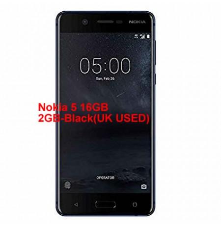 Nokia 5 16GB 2GB-Black(UK USED)