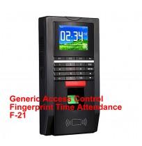 Access Control Fingerprint Time Attendance F-21