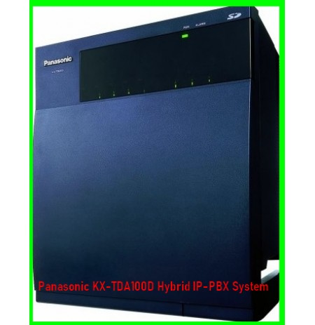Panasonic KX-TDA100D Hybrid IP-PBX System