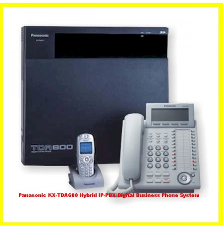 Panasonic KX-TDA600 Hybrid IP-PBX Digital Business Phone System