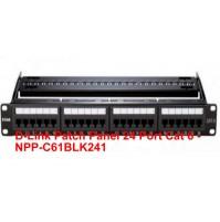 D-Link Patch Panel 24 Port Cat 6 - NPP-C61BLK241