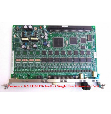 Panasonic KX TDA1176 16-Port Single Line Extension Card