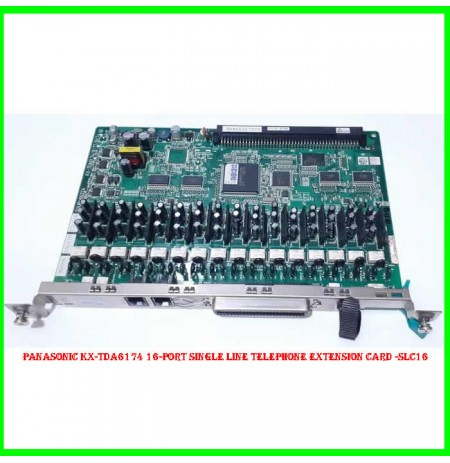 Panasonic KX-TDA6174 16-Port Single Line Telephone Extension Card -SLC16