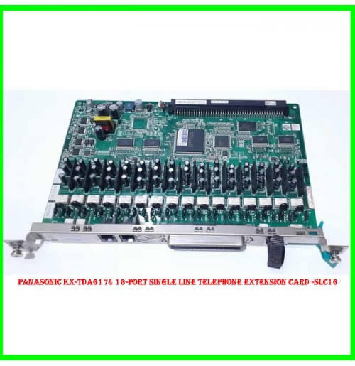 Panasonic KX-TDA6174 16-Port Single Line Telephone Extension Card -SLC16