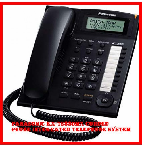 Panasonic KX-TS880MX Corded Phone Integrated Telephone System