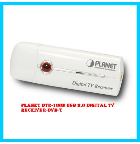 PLANET DTR-100D USB 2.0 Digital TV Receiver-DVB-T