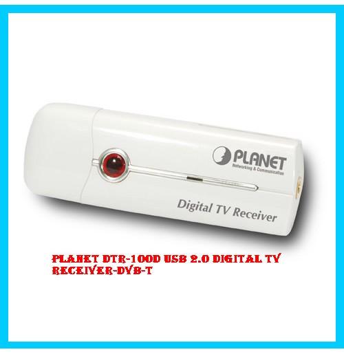 PLANET DTR-100D USB 2.0 Digital TV Receiver-DVB-T