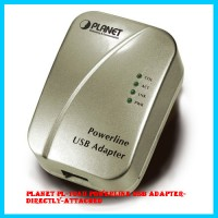 PLANET PL-104U Powerline USB Adapter-directly-attached