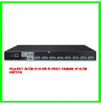 Planet IKVM-210-08-8-Port Combo IP KVM Switch