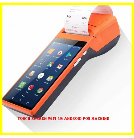 Touch Screen WIFI 4G Android POS Machine
