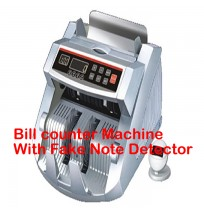 Bill counter Machine With Fake Note Detector