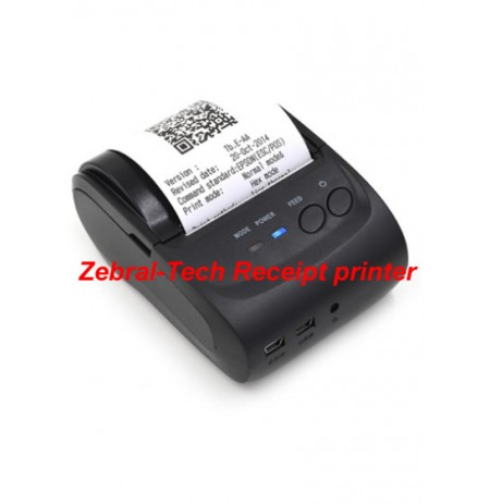 ZT-580 Zebral-Tech mini Bluetooth thermal Receipt printer