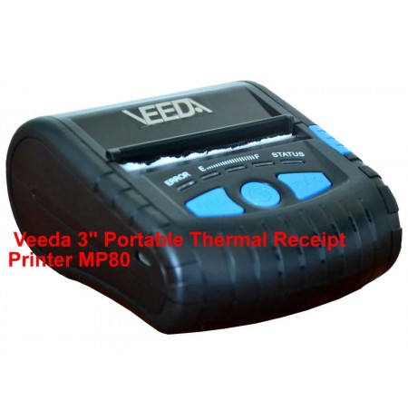 "Veeda 3"" Portable Thermal Receipt Printer MP80"