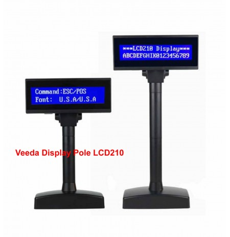 Veeda Display Pole LCD210