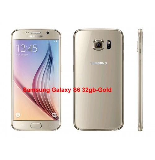 Samsung Galaxy S6 32gb-Gold(UK USED)