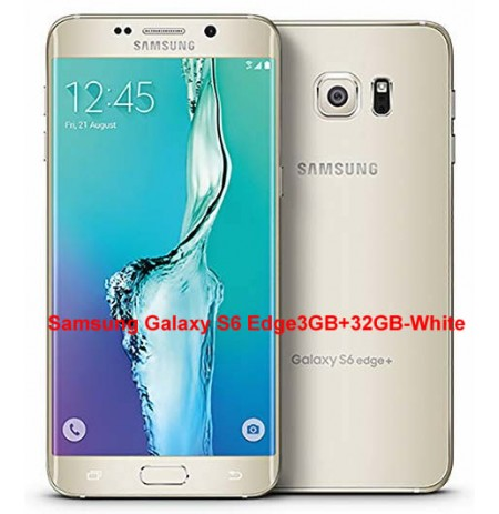 Samsung Galaxy S6 Edge3GB+32GB-White(UK USED)