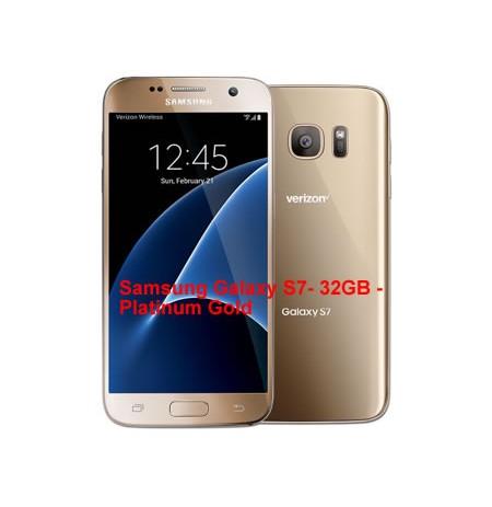 Samsung Galaxy S7- 32GB-Gold (UK USED)