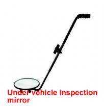 Under vehicle inspection mirror