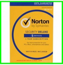 Norton Security Deluxe– 5 Users– 1 Year
