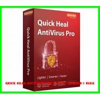 Quick Heal Antivirus Pro Latest Version-1 user