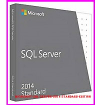Microsoft SQL Server 2014 Standard Edition